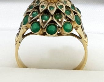 Thai Princess Harem Ring Vintage 10ct