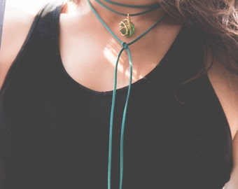 Choker. TURQUOISE WATER