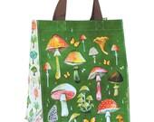 Mushroom Reusable Tote Bag | Small Grocery Bag
