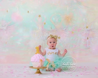 Tutu Dress   Birthday Tutu   Baby Tutu Skirt   Mint and Gold Tutu by Strawberrie Rose   1st Birthday Tutu