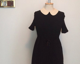 Vintage 60s lbd mini mod dress XS S