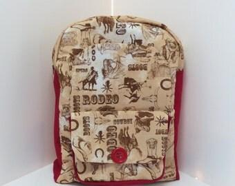 Rodeo Preschool Backpack