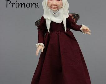 OOAK Art Doll Sculpture - Primora - Fairy by Ksheyna Nightswood