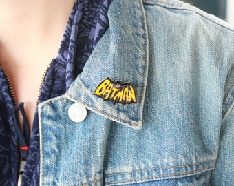 Batman Comic Book Pin