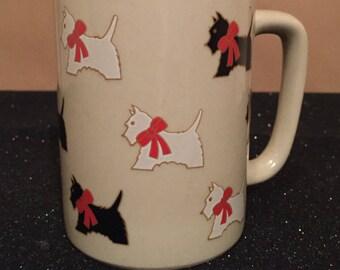 SCOTTIE DOG dog mug vintage mug cute coffee mug