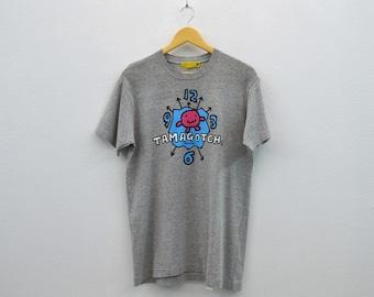 Tamagotch Shirt Men Size M Vintage Tamagotch T 90s Tamagotchi Vintage BanDai Cyber Pet T