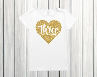 Three birthday shirt Birthday girl shirt 3 birthday girl 3rd birthday outfit girl Three birthday Third birthday girl Three year old birthday