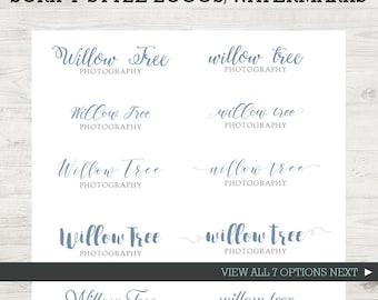 Logo Design - Premade Logo - Photography Logo - Script Logo - Business Logo - Watermark - Signature Logo - Branding - Marketing