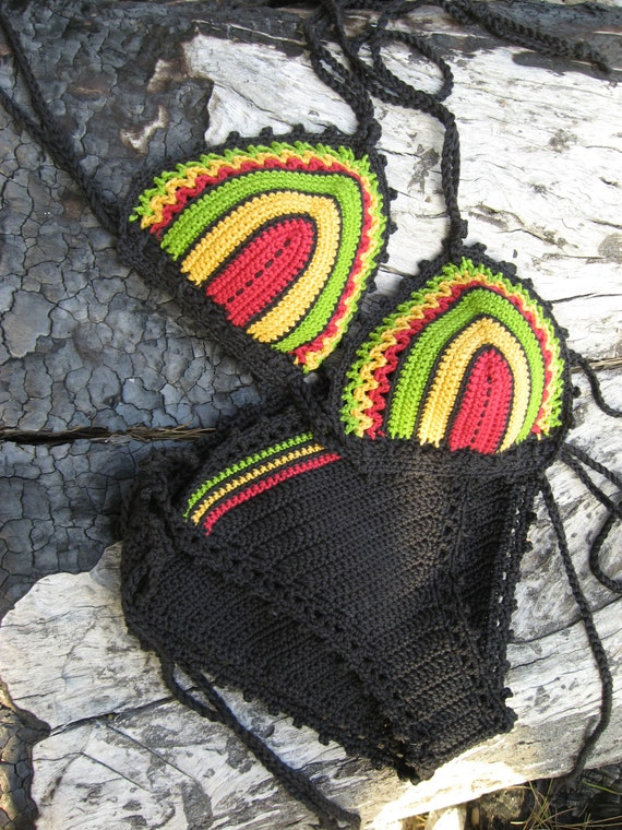 Jamaican crochet bikini