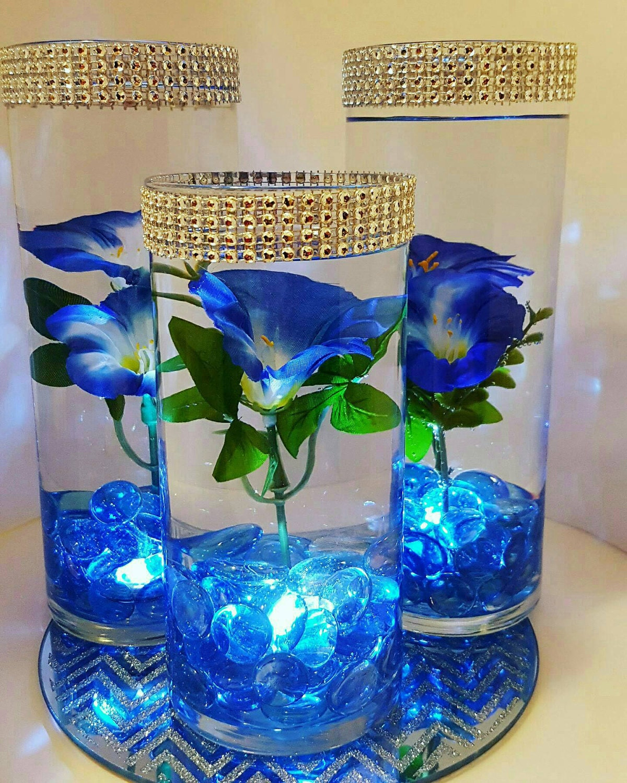 Wedding Centerpiece Floating Flower Centerpiece Led Lights