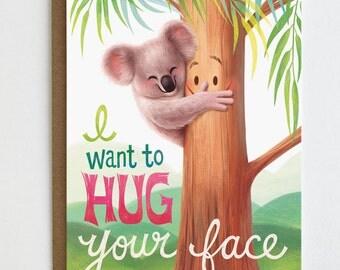 Koala Love Card