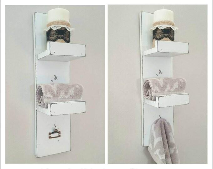 Towel Rack - Hand Towel Rack - Towel Holder - Rustic Towel Rack