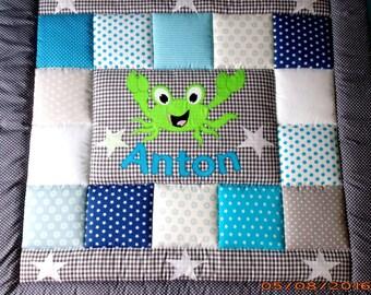 baby blanket, quilt