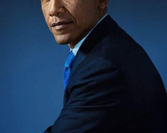 Barack Obama Portrait 8X10