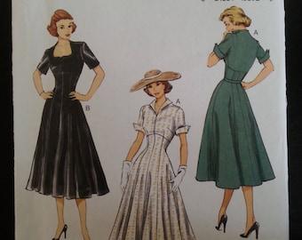 Butterick 6018 - Retro'52 - Butterick pattern Misse's Dress - sizes 6-8-10-12-14