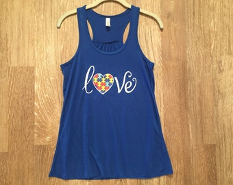 For the Love of Autism Tank