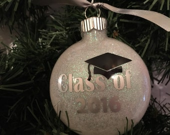 Class of 2017, Graduation Christmas Ornament