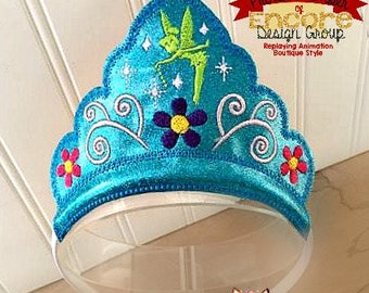 Tinkerbell inspired crown
