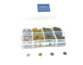 Box of 400 beads spacers washers