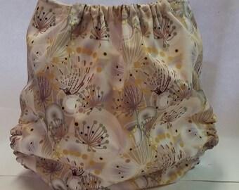 Dandelion One Size Pocket Diaper