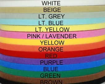 "Ultra thin VELCRO® brand double sided hook & loop tape 5 yards 3/8'', 1/2"", 5/8"", 3/4"", 1"", 1 1/2"", 2"", 3"", 4"" wide doll clothes dresses"