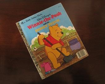 Walt Disney's Winnie-The-Pooh and the Honey Patch – Vintage Children's Little Golden Book – 101-54