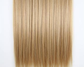 Dark Blonde-100% Human Hair Flip-in(Halo style) extension