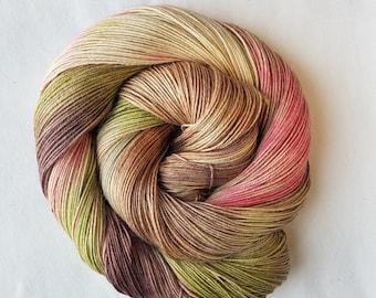 Mrs. Camo hand painted indie yarn