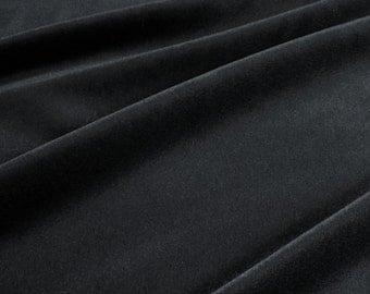 Fabric mohair velvet black upholstery 100.000 Martindale