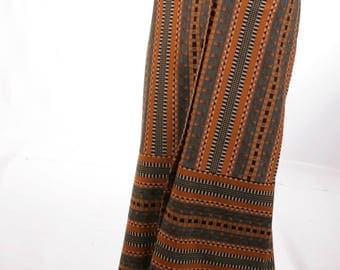 FREE US SHIPPING VIntage Maxi Wool Skirt