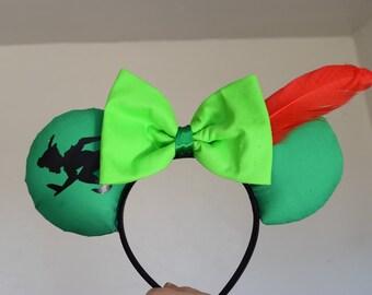 Peter Pan Minnie Ears, Peter Pan Ears, Minnie Ears, Minnie Mouse Ears, Mouse Ears