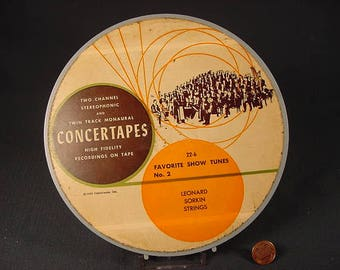 Free Shipping * Vintage Old Collectible * Reel to Reel Tape Music * Favorite Show Tunes No. 2 * 1956