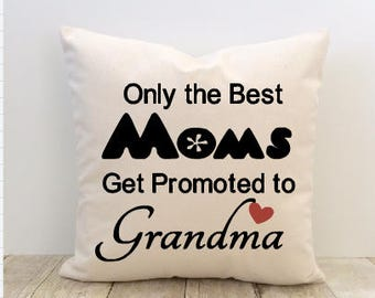 Best Mom, Best Grandma, Best Dad, Best Grandpa Pillow Cover, Mother's Day Pillow Cover, Father's Day Pillow Cover
