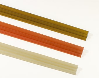 Taniwha S-glass translucent fly rod blanks (with rod sock)