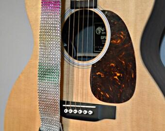 Rainbow Guitar Strap