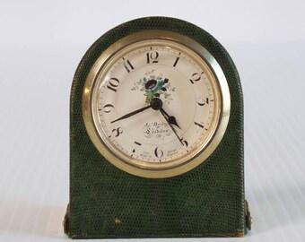 Vintage Alarm Clock - Roger Lascelles Clocks - Made in England - Brass Cloks