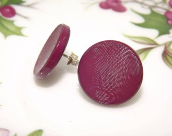 Orecchin vintage/ Orecchini a lobo/ Small earrings/ Button earrings/ Orecchini bottone