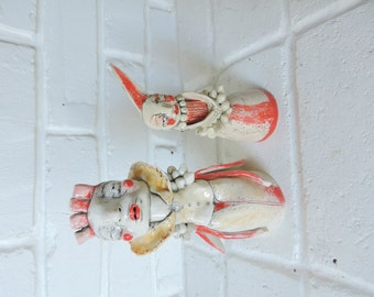 One of a Kind, Handmade Porcelain Figure - Ceramic Sculpture -Contemporary  Modern Pottery -Mary