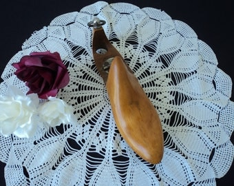 REDUCED - French Vintage wooden shoe last  (04582)