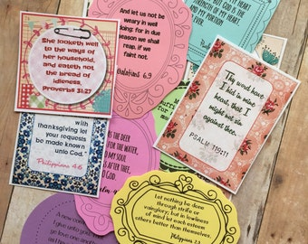Mixed Bible Verse Cards