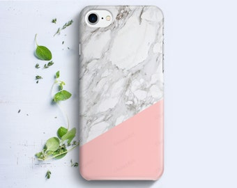 iPhone Case - Geometric Marble Texture - iPhone 4/4s iPhone 5 iPhone 5c iPhone 5s iPhone 6 iPhone 6 Plus iPhone 6s iPhone SE iPhone 7