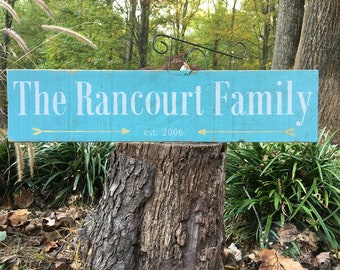 Beautiful Heirloom Family Signs