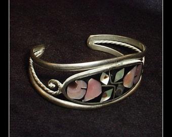 Alpaca Silver Vintage Cuff Bracelet