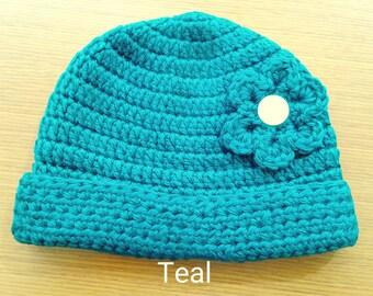 Crochet Beanie 9-12 Months