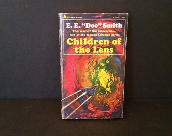 Vintage Children of the Lens by EE Doc Smith 1968 Scifi Paperback
