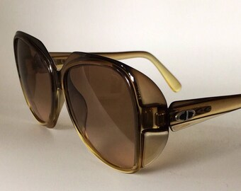 CHRISTIAN DIOR 70s vintage sunglasses