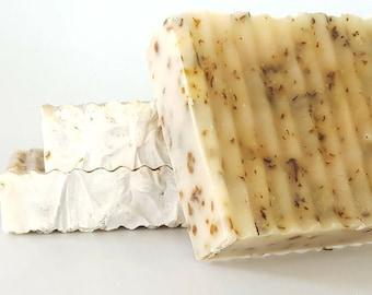 Lemongrass and Peppermint Soap, Homemade Soap, Handmade Soap, Organic Soap, Vegan Soap, Natural Soap, Cold Process Soap