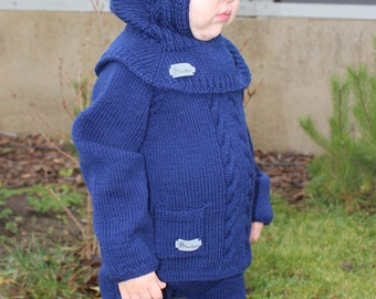 Baby boy knitwear. Wool baby set. Knit baby sweater, knit baby pants. Wool baby clothes. Knit baby clothes. Wool pants. Knit baby leggings.