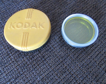 Vintag Kodak Series VI Wratten K2 Filter & Adapter Ring 1 1/4 Inch Free Shipping