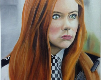 PRINT of Amy Pond from Doctor Who